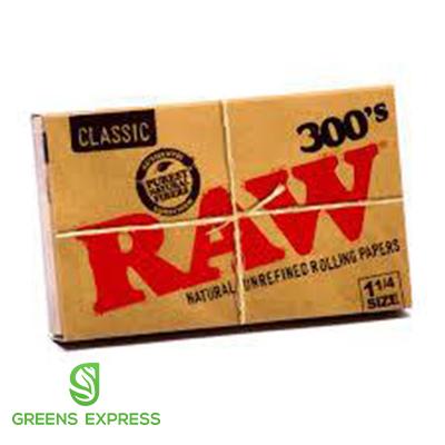 RAW 300'S CLASSIC NATURAL UNREFINED (1 1/4)