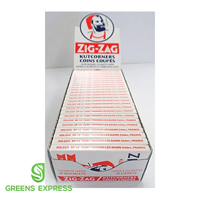 ZIG ZAGS ULTRA THIN ROLLING PAPER