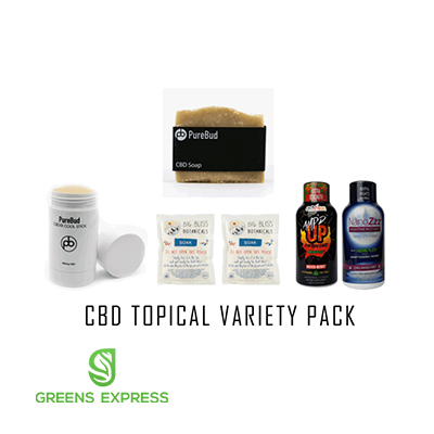 CBD Topical Variety Pack