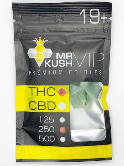 OR 2 Mr. Kush Gummies 125mg THC
