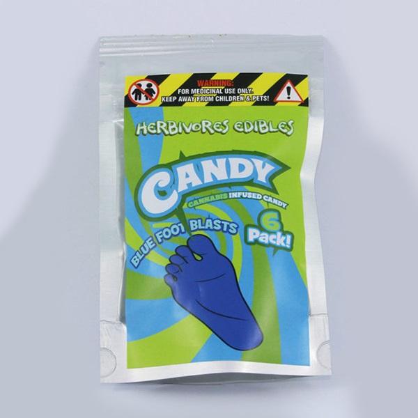 Herbivores Edibles – Blue Foot Blasts Gummy