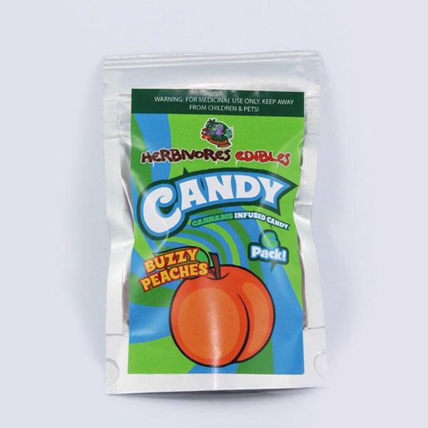 Herbivores Edibles – Buzzy Peaches Gummy