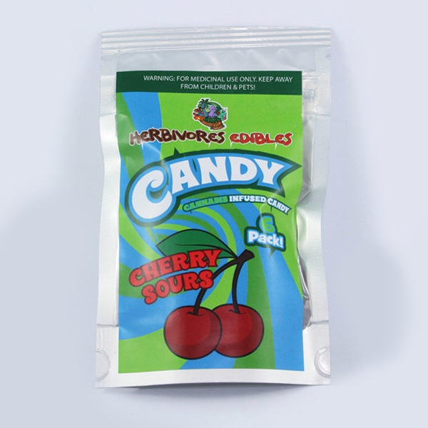 Herbivores Edibles – Cherry Sour Gummy Candy