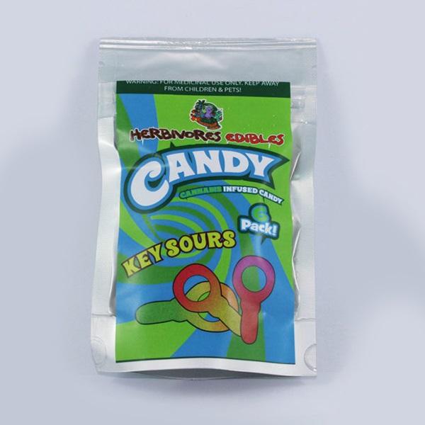 Herbivores Edibles – Key Sour Gummy Candy