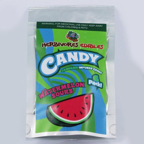 Herbivores Edibles – Watermelon Sour Gummy Candy