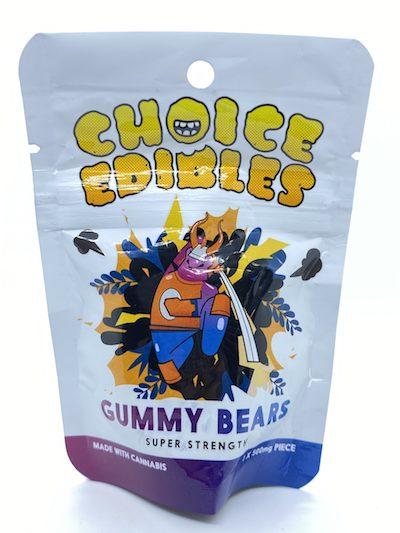 Choice Edibles | THC Gummy Candy 500mg