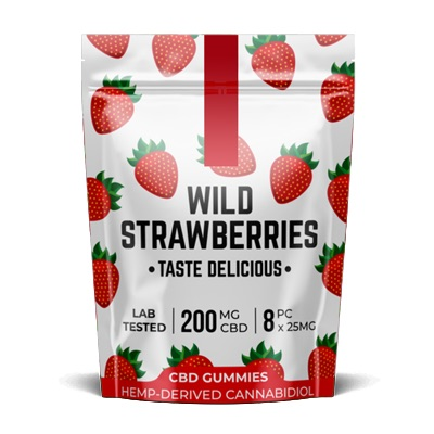 Pacific CBD Wild Strawberries 200mg