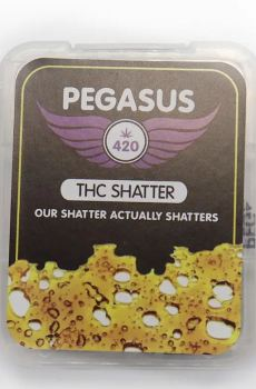 Pegasus THC Shatter – Hybrid